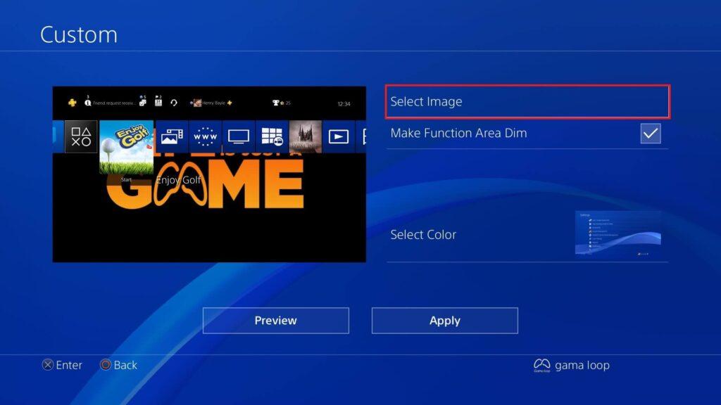 نحوه تغییر تم PS4